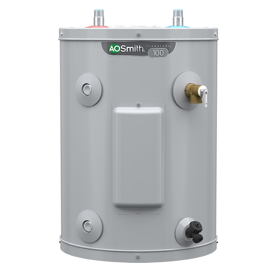 medium resolution of a o smith signature 6 gallon regular 6 year limited 1500 watt single element point of use electric water heater