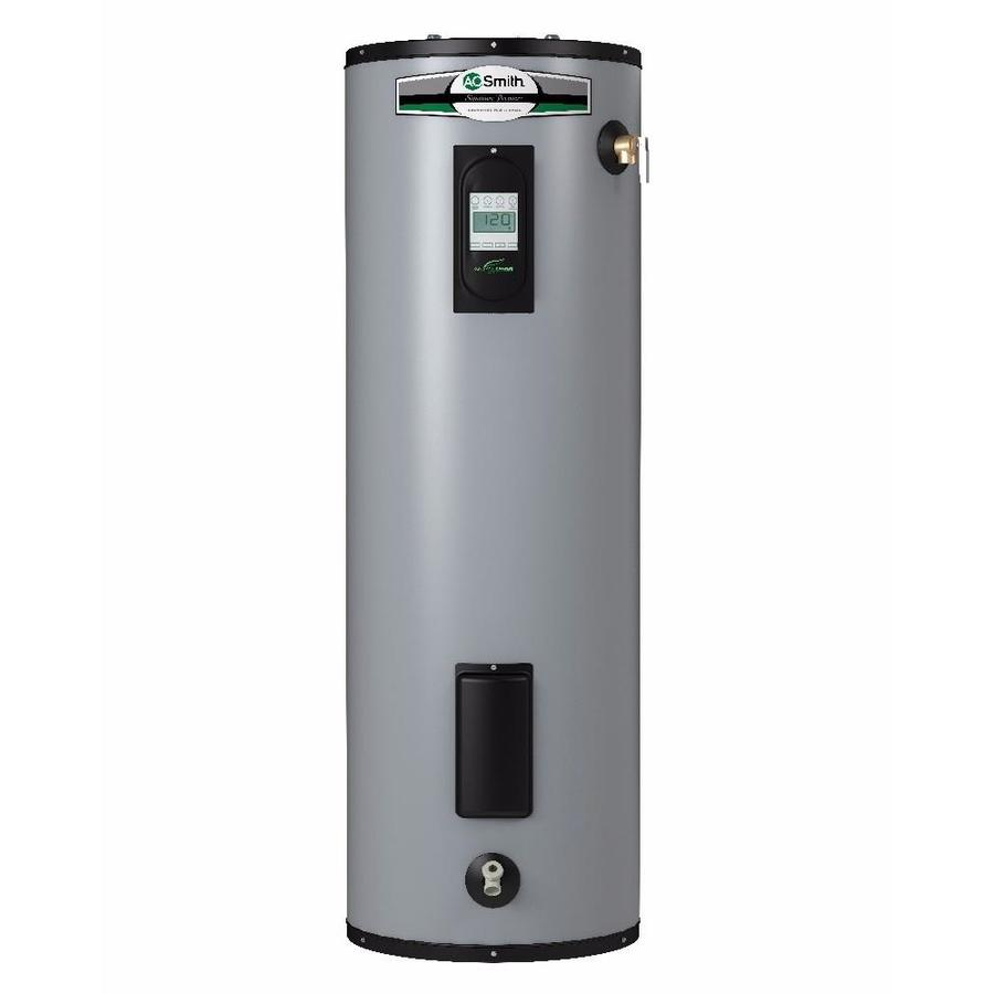 hight resolution of a o smith signature premier 50 gallon tall 12 year limited 5500 watt double element electric water heater