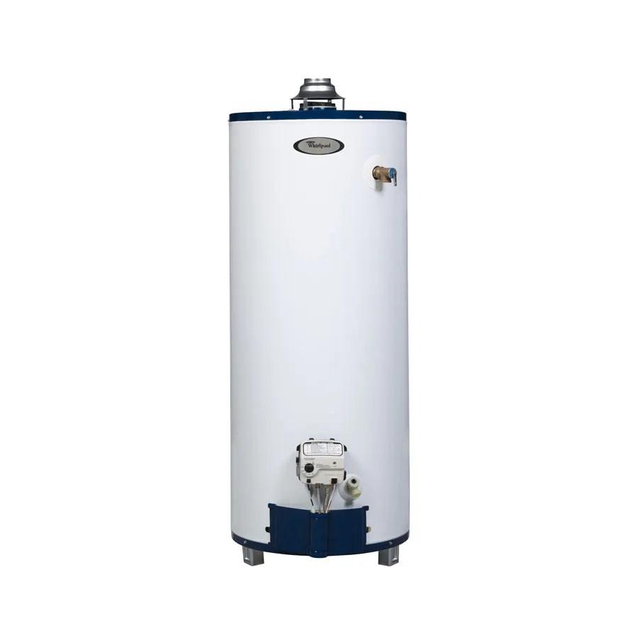 medium resolution of whirlpool 40 gallon 6 year residential short natural gas water heater