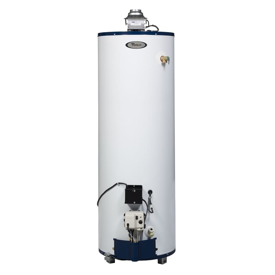 medium resolution of whirlpool 40 gallon tall 6 year natural gas water heater