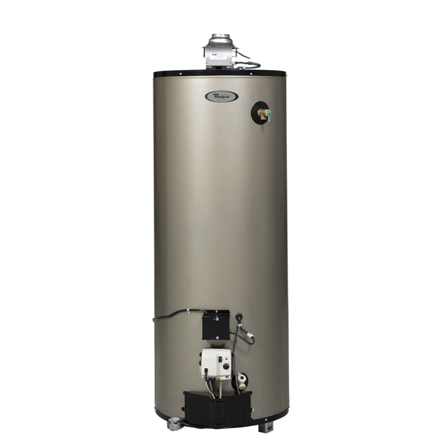 Shop Whirlpool 50gallon 12year Residential Tall Natural