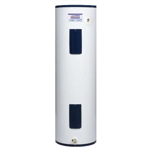 small resolution of u s craftmaster 40 gallon regular 6 year warranty 4500 watt double element electric water heater