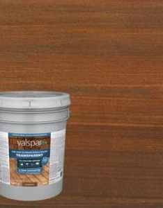 Valspar pre tinted canyon brown transparent exterior stain and sealer actual net contents also stains at lowes rh