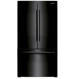 samsung 25 5 cu ft french door refrigerator with ice maker black black energy star [ 900 x 900 Pixel ]