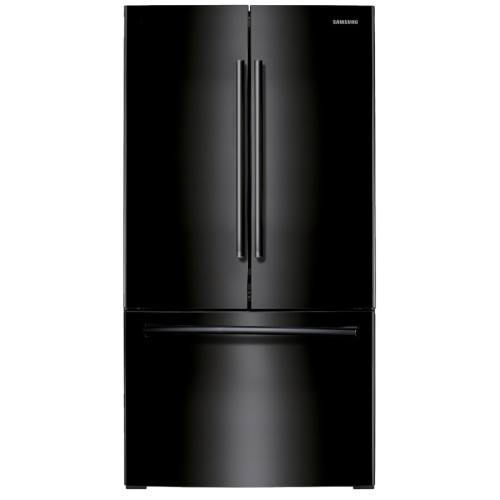small resolution of samsung 25 5 cu ft french door refrigerator with ice maker black black energy star