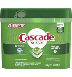 cascade 60 pack regular dishwasher detergent [ 900 x 900 Pixel ]