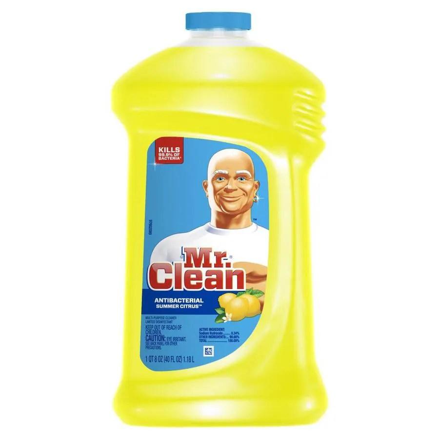 Shop Mr Clean Liquid 40 Oz Summer Citrus All Purpose