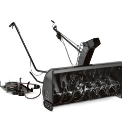 mtd genuine parts 42 in two stage residential attachment snow blower [ 900 x 900 Pixel ]