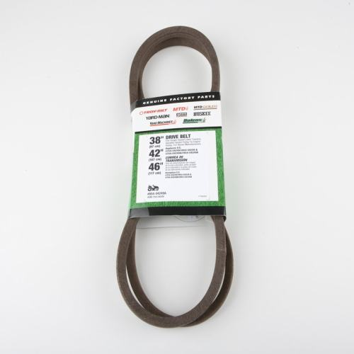 small resolution of troy bilt 46 in drive belt for riding lawn mowers