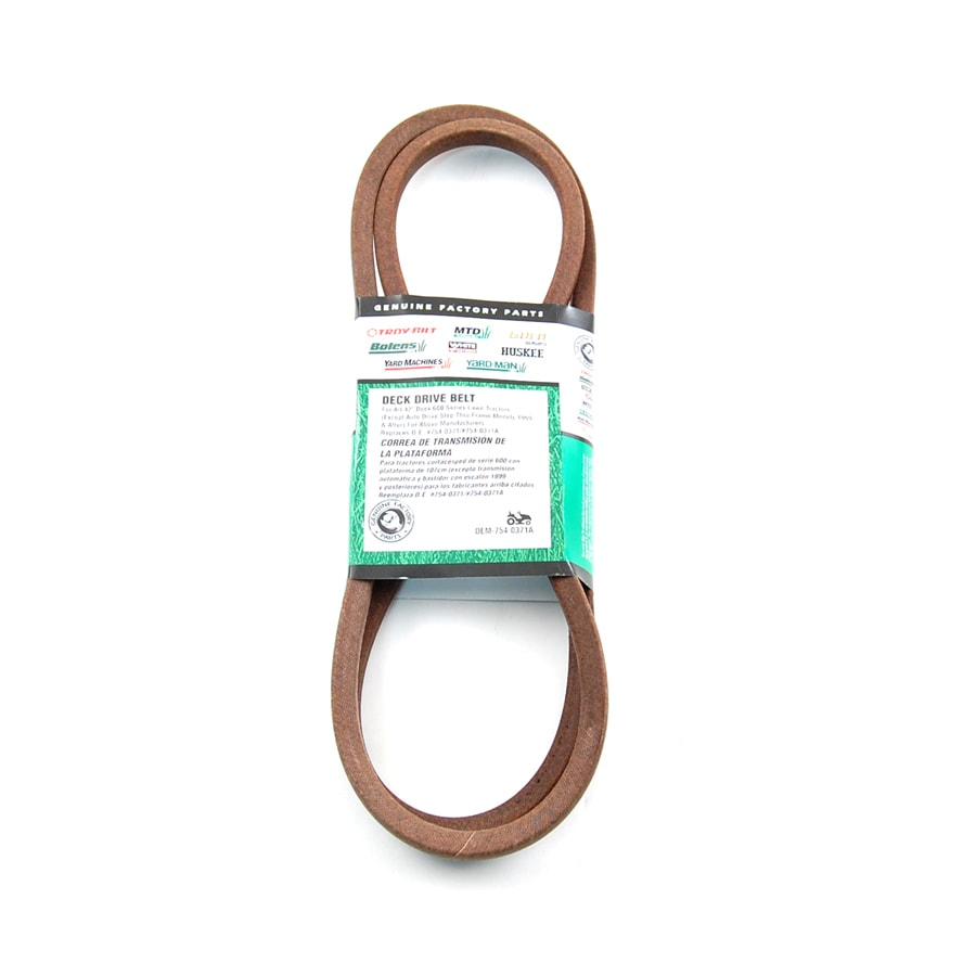 medium resolution of mtd 42 in deck drive belt for riding lawn mowers