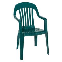 Green Resin Patio Chairs Drafting Office Chair Adams Mfg Corp Hunter Stackable Dining At