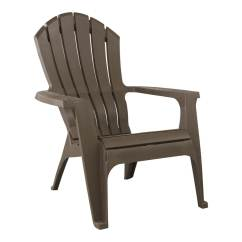 Stackable Resin Adirondack Chairs Dorm Lounge Shop Adams Mfg Corp Earth Brown Patio Chair At Lowes.com