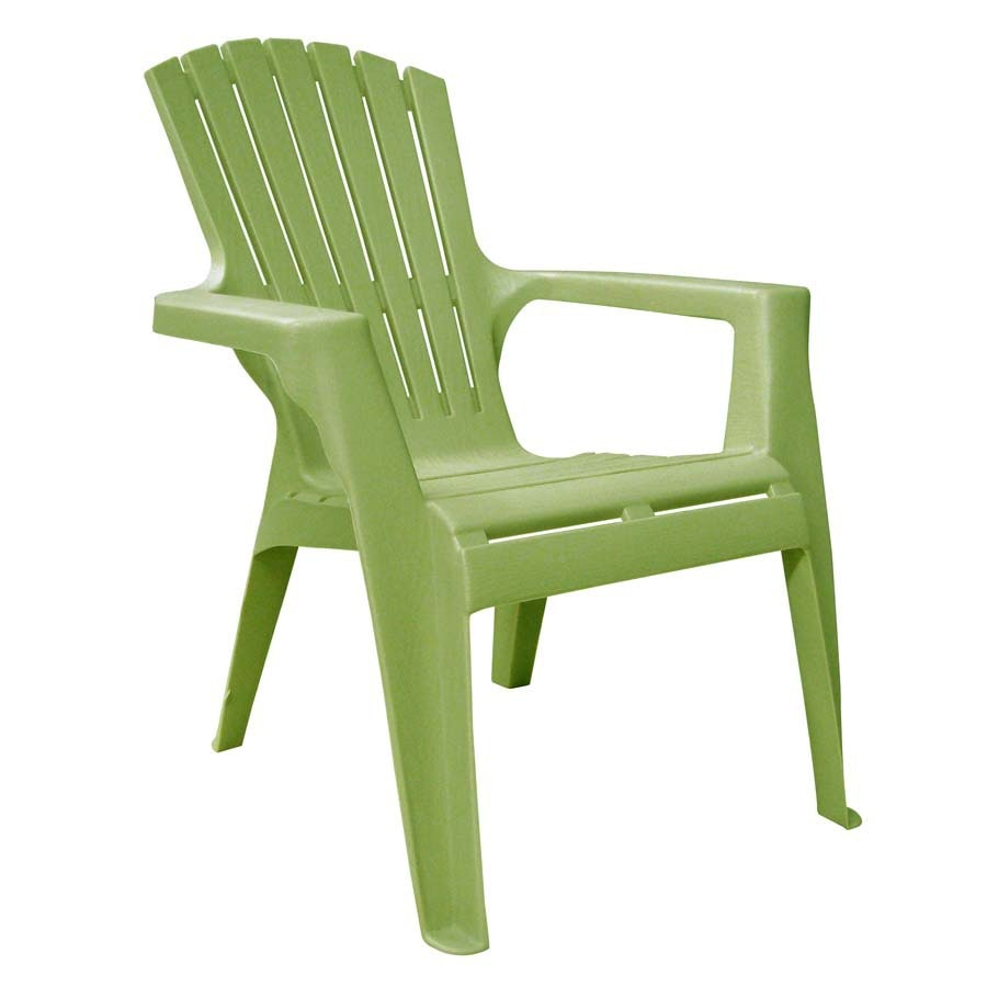 adams resin stacking adirondack chair walmart kids mfg corp stackable with slat at lowes com