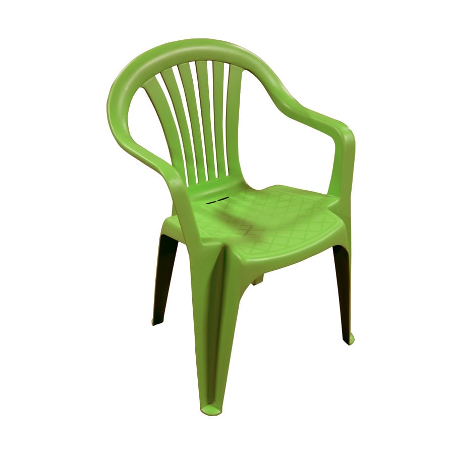green resin patio chairs pottery barn kitchen adams mfg corp stackable dining chair at lowes com