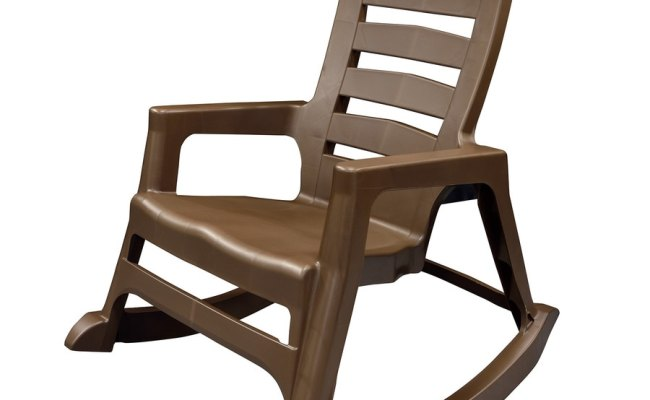 Adams Mfg Corp Stackable Plastic Rocking Chair S With