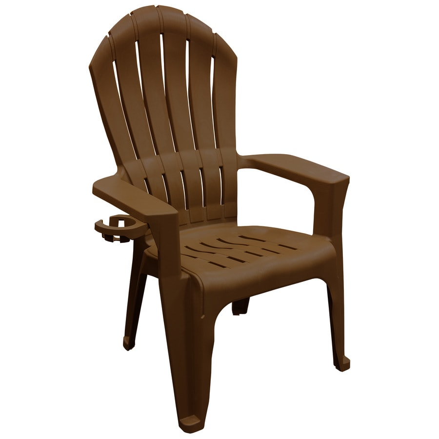 Shop Adams Mfg Corp Stackable Resin Adirondack Chair with