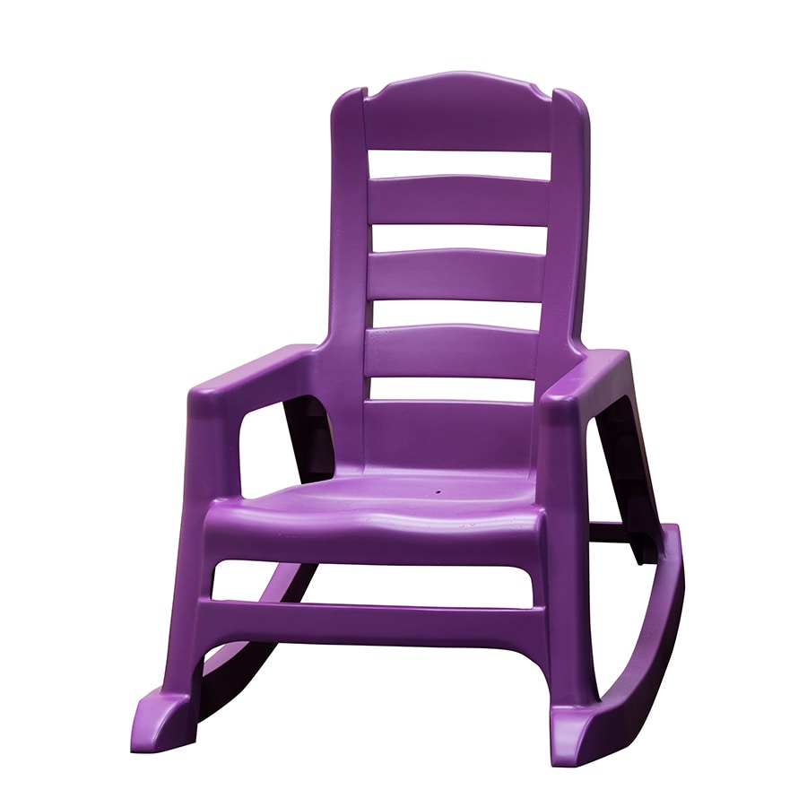 Kids Rocking Chairs Adams Mfg Corp Kids Stackable Resin Rocking Chair At Lowes