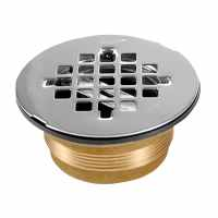Shop Oatey Brass Shower Drain at Lowes.com