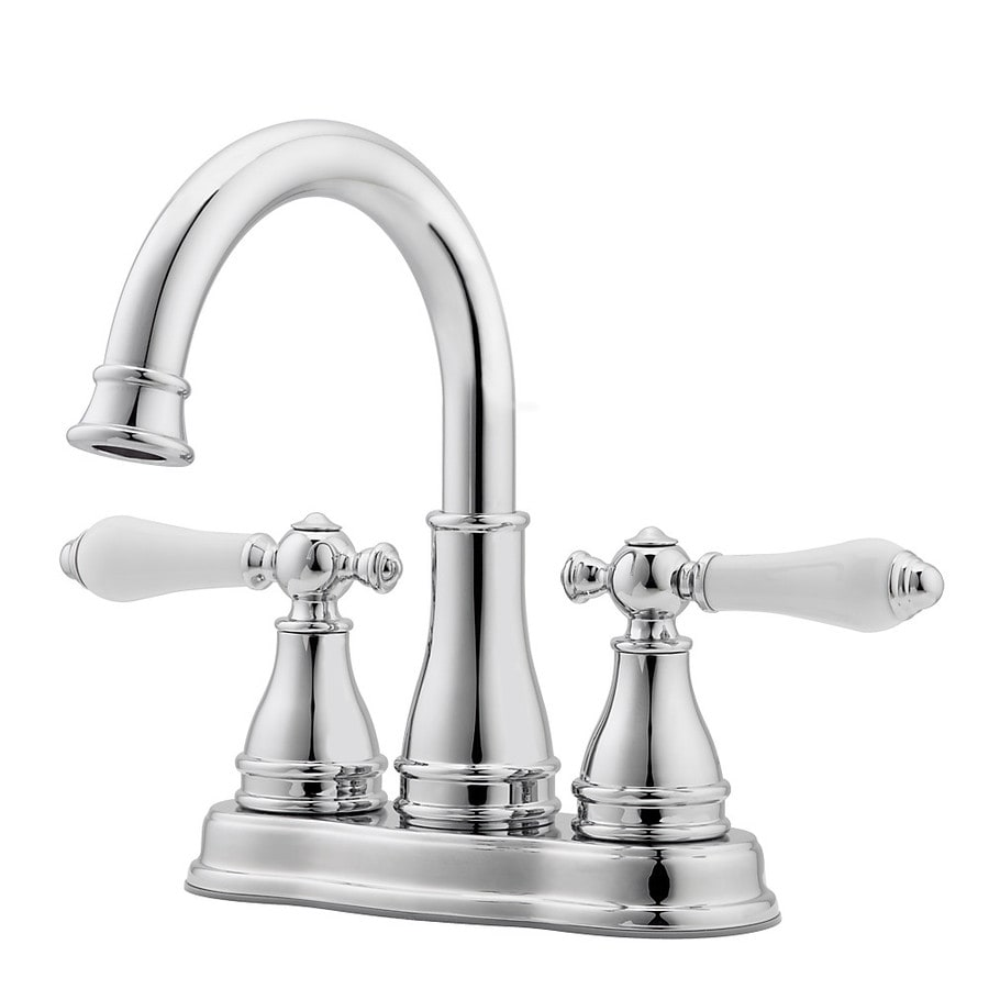Shop Pfister Sonterra Polished Chrome 2handle 4in Centerset Bathroom Faucet at Lowescom