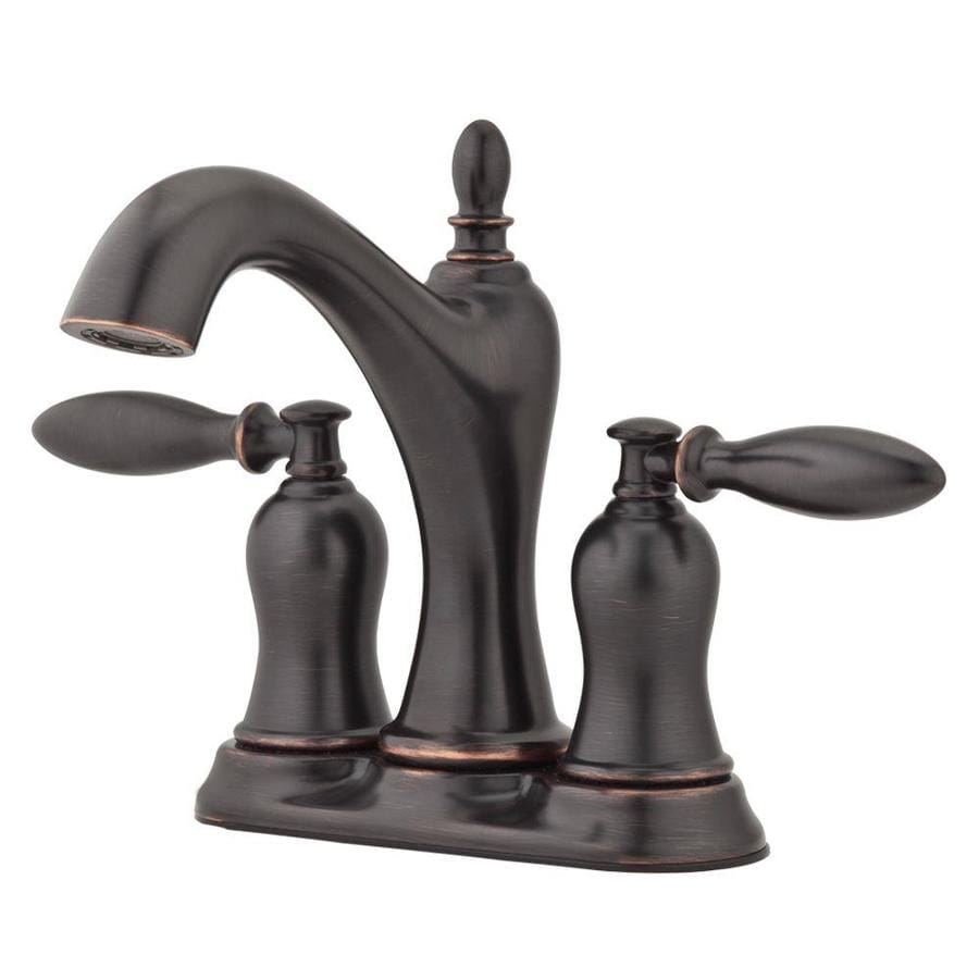 mobile home kitchen faucets rooms to go tables shop pfister arlington tuscan bronze 2-handle 4-in ...