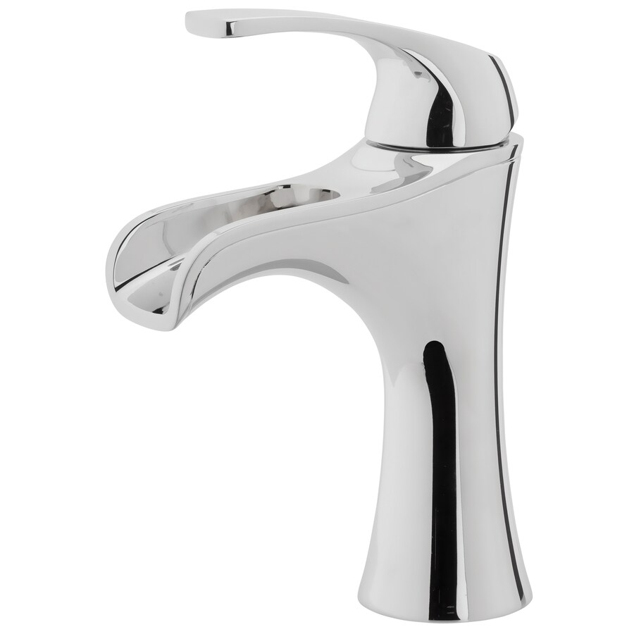 Ideas Bathroom Sink Faucets Pfister Jaida Polished Chrome 1 Handle 4 In Centerset Watersense