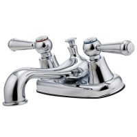 Pfister Pfirst Polished Chrome 2-Handle 4-in Centerset ...