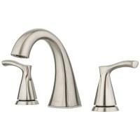 Pfister Masey Brushed Nickel 2-handle Widespread Bathroom ...