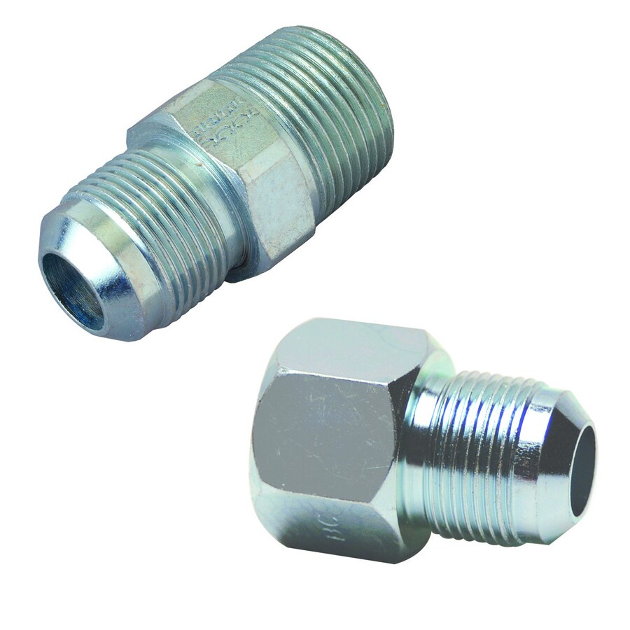 kitchen appliance ratings counter solutions shop brasscraft 5/8-in dia galvanized union fittings at ...