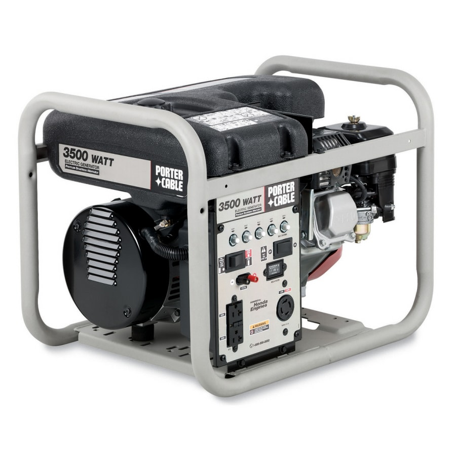 hight resolution of porter cable 3500 running watts portable generator