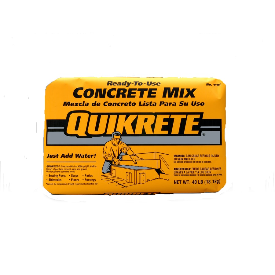 Quikrete 80 Lbs Concrete Mix