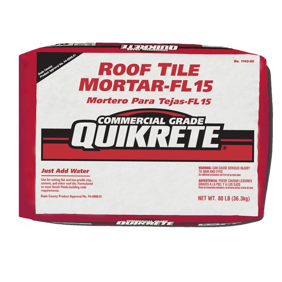 quikrete 80 lb gray type m mortar mix lowes com