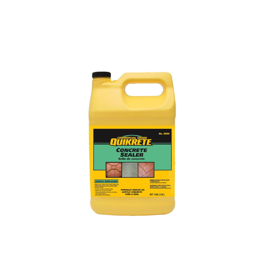 Quikrete Concrete Cure And Seal