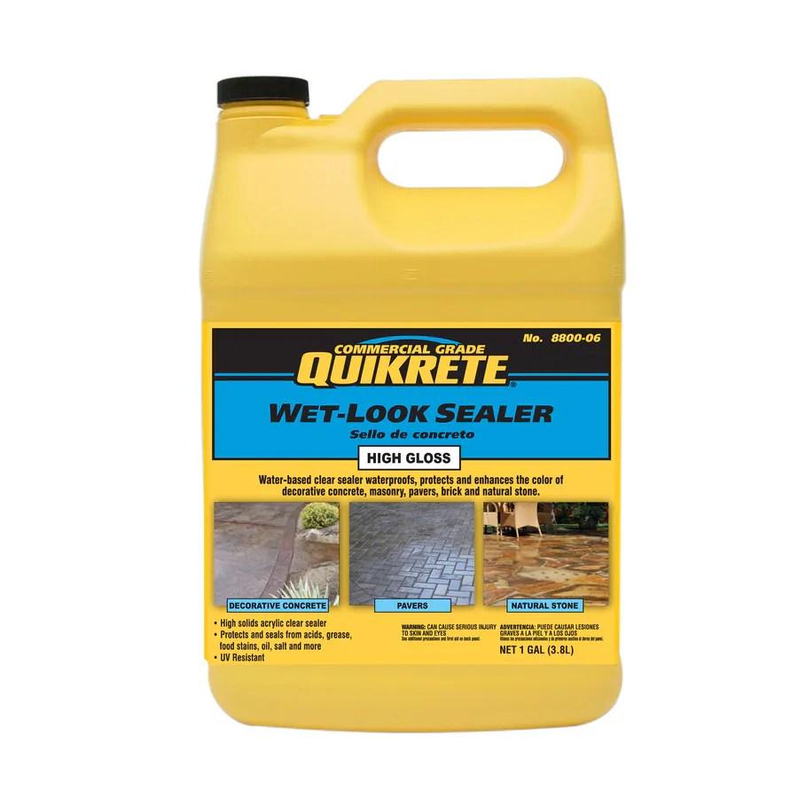 Quikrete High Gloss Concrete Sealer