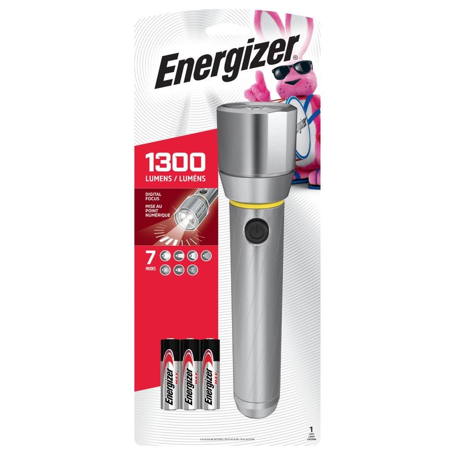 medium resolution of energizer vision hd performance metal light 1300 lumen led flashlight battery included