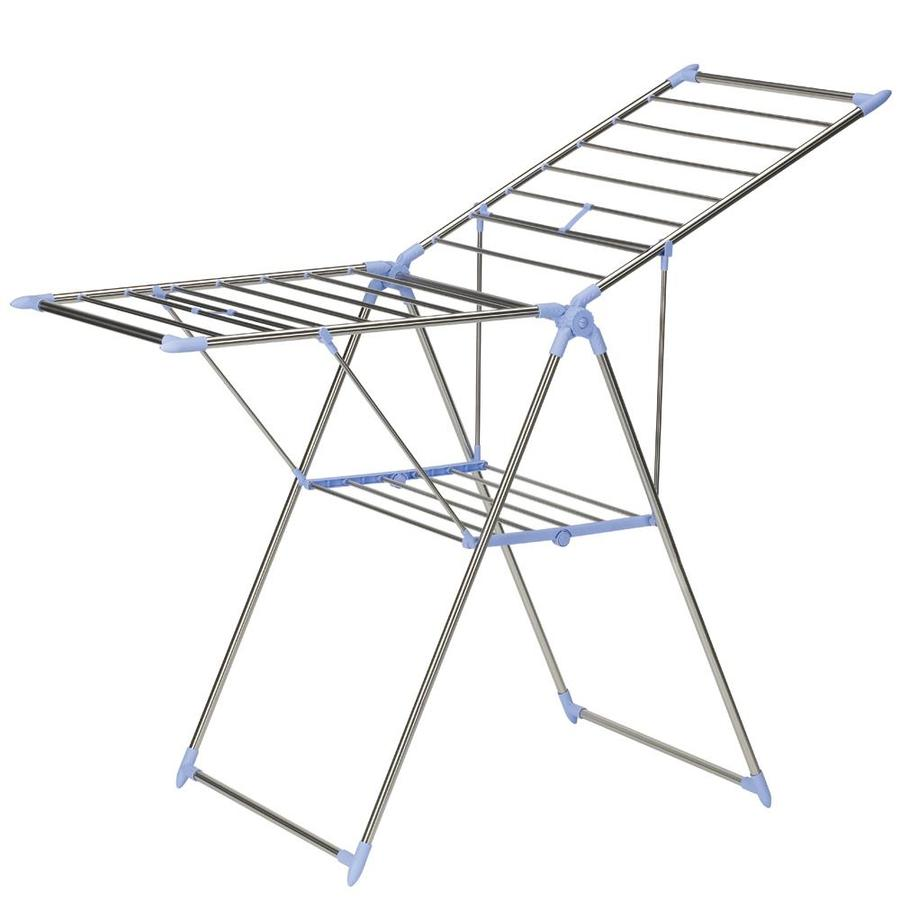 Household Essentials 3-Tier 61-in Stainless Steel Drying