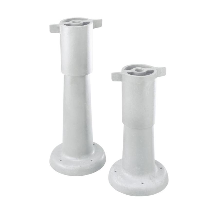 kohler brockway 25 in h cast iron pedestal sink base