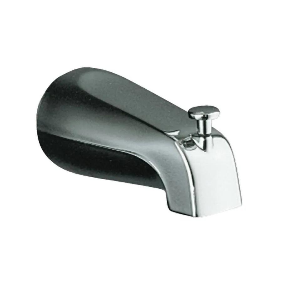 shower diverter valve diagram delta faucet repair parts shop kohler chrome tub spout with at lowes.com