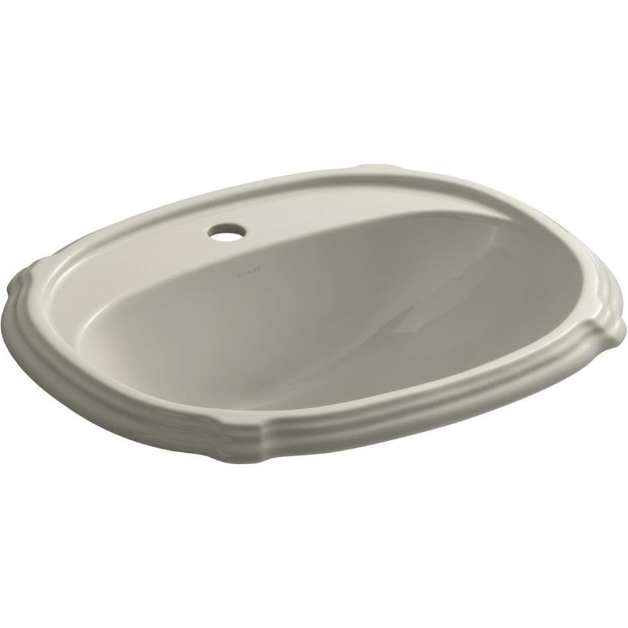 Shop KOHLER Sandbar Bathroom Sink at Lowes.com