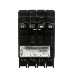 siemens qp 30 amp 2 pole quad circuit breaker [ 900 x 900 Pixel ]
