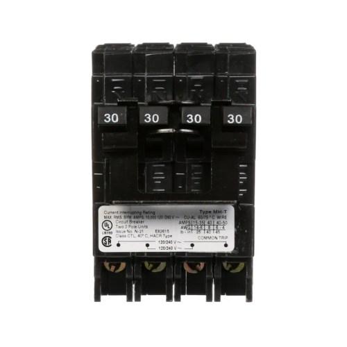 small resolution of siemens qp 30 amp 2 pole quad circuit breaker