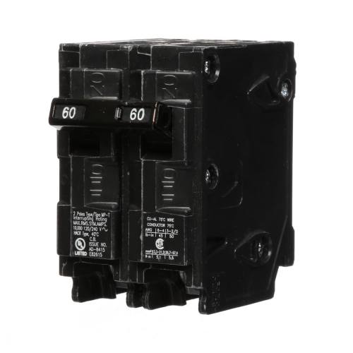 small resolution of shop murray mp 60 amp 2 pole main circuit breaker at lowes com 60 amp gfci