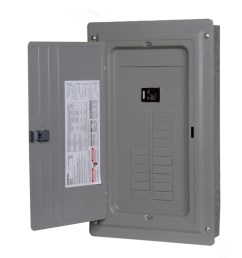 siemens 20 circuit 20 space 100 amp main breaker load center [ 900 x 900 Pixel ]