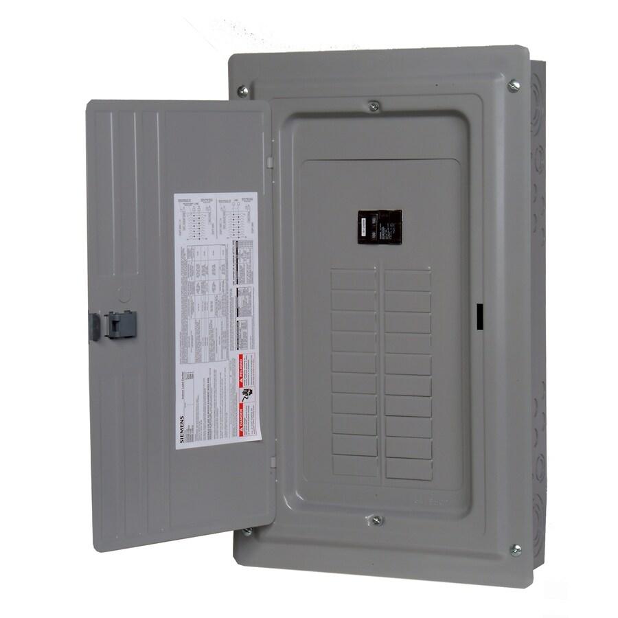 medium resolution of siemens 20 circuit 20 space 100 amp main breaker load center