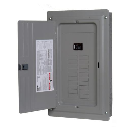 small resolution of siemens 20 circuit 20 space 100 amp main breaker load center