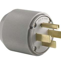 eaton 50 amp 125 250 volt gray 4 wire grounding [ 900 x 900 Pixel ]
