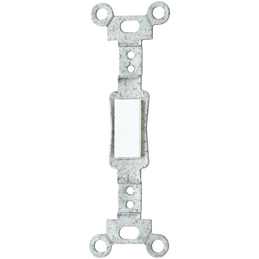 Eaton 1-Gang White Blank Wall Plate Insert at Lowes.com