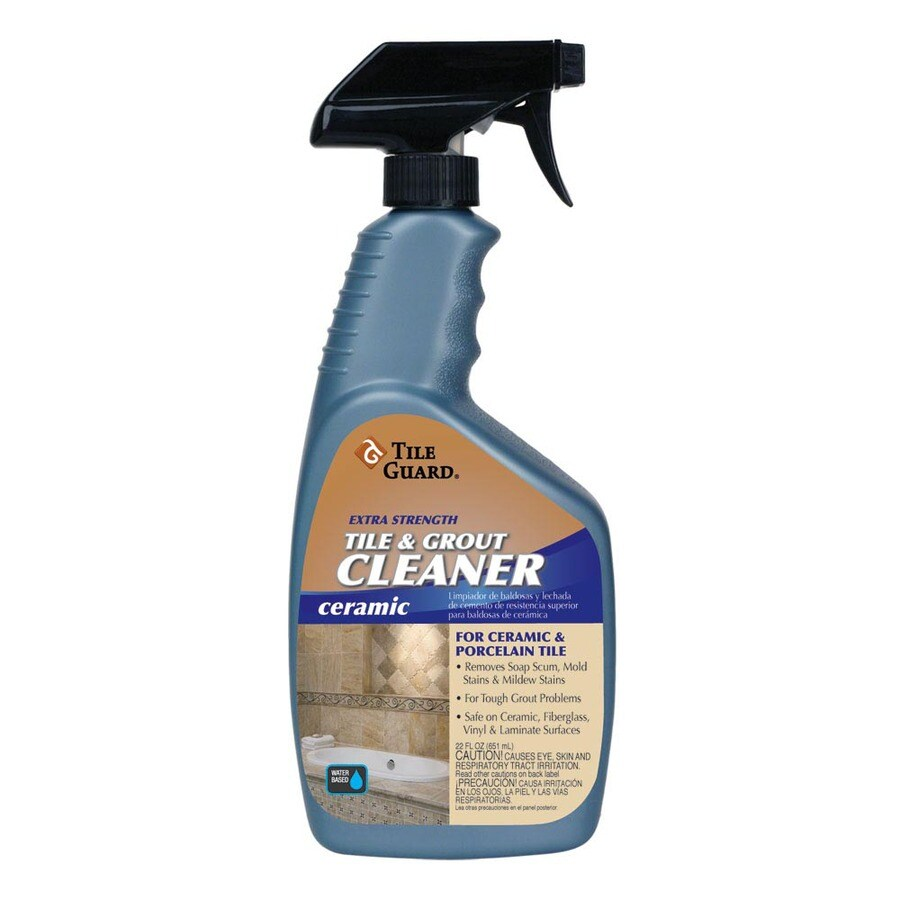 tile guard 22 oz extra strength tile and grout cleaner