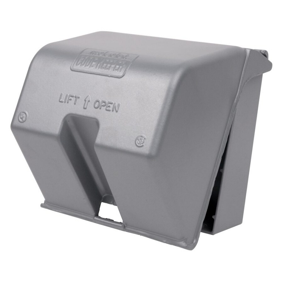 hight resolution of reddot 2 gang square metal weatherproof electrical box cover
