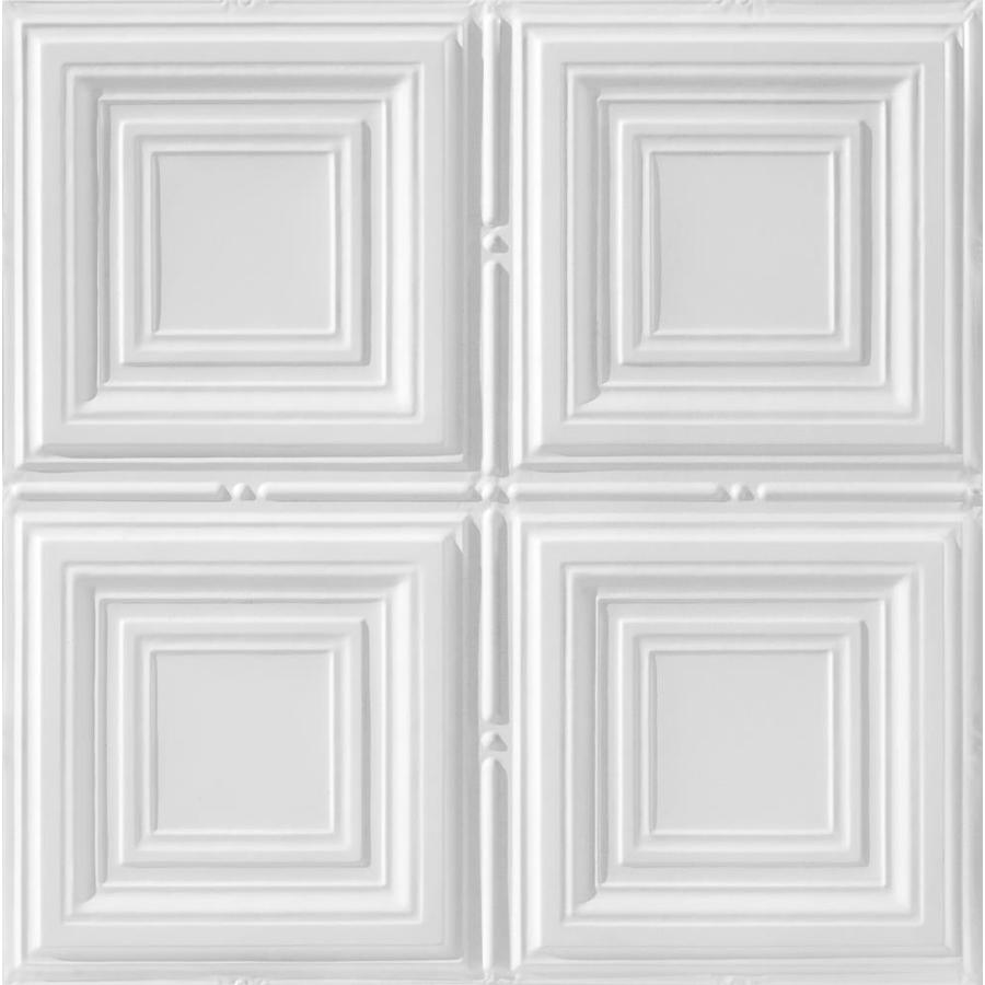 Lowes Drop Ceiling Tiles Shop Armstrong Metallaire Brass