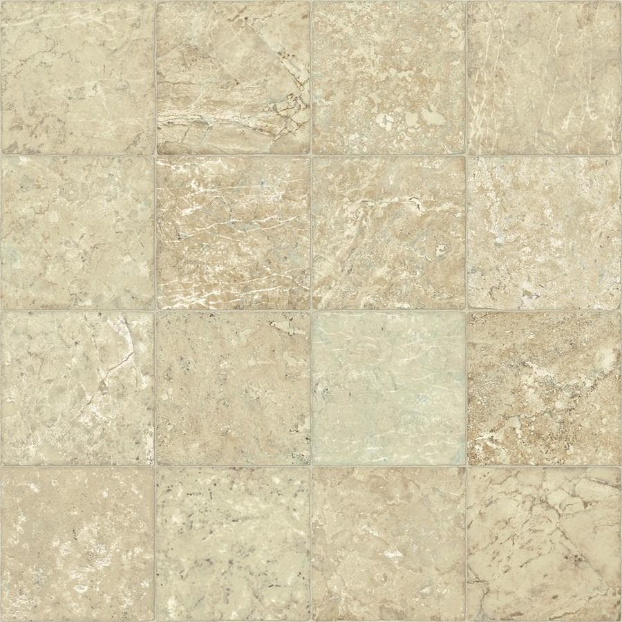 armstrong flooring epiq 12 ft w x cut to length kral travertine desert drift tile low gloss finish sheet vinyl